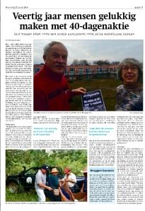 Artikel BEL Nieuws jan. 2016