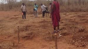 Bouw kleuterschool Tanzania 1