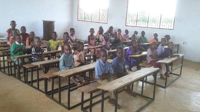 klaslokaal kleuterschool tanzania